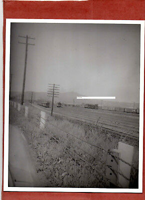 Pennsylvania RR PRR Photo Rail Yard Enola PA B&W 8X10