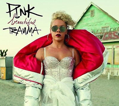 Beautiful Trauma by P!nk (CD, Oct-2017, RCA) Pink EXPLICIT CONTENT. FREE SHIPPIN