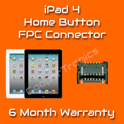 iPad 4 Home Button Connector Repair Replacement Service (Board Only)