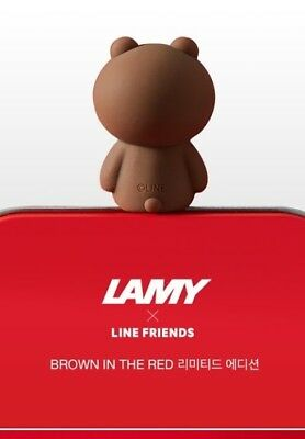 Lamy x Line Friends Brown in the Red Limited Edition With More Ink 1 Set