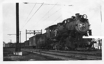 Long Island RR LIRR Photo Locomotive #262 Glendale Long Island 1937
