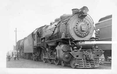 Long Island RR LIRR Photo Locomotive #22 Meadows NJ 1946