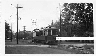Hagerstown & Frederick RY H&FRY Photo Car #171 at Hood College 1952
