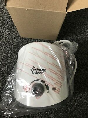 Tommee Tippee Bottle Warmer. New In Box