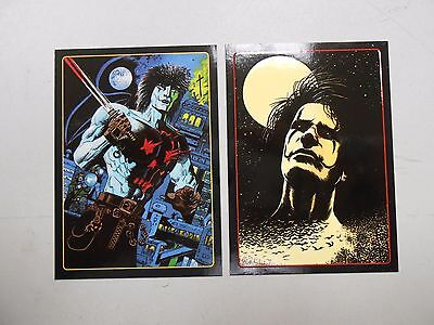 """1996 Legend of the Crow chase """"embossed"""" card lot of 2! #'s 5 and 8! NM/MN!"""