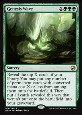 1x GENESIS WAVE - Rare - Iconic Masters - MTG - NM - Magic the Gathering