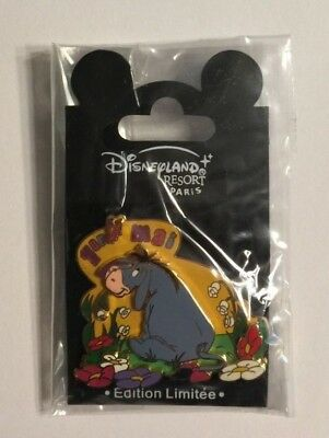 Eeyore 1 er Mai 2004, Disneyland Resort Paris DLRP Disney Pin LE900