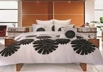 Double Duvet Quilt Cover Sale Price Cheapest on eBay ££ All Must Go Ruby Brown