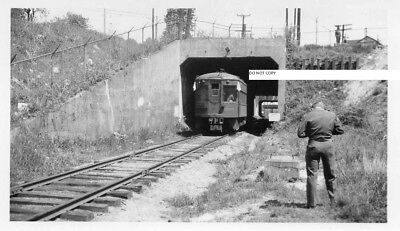 Washington Baltimore & Annapolis RR WB&ARR Photo Car #205 at Under Pass