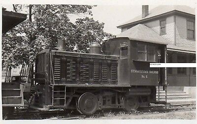 Stewartstown RR SRR Photo Locomotive #6 Stewartstown MD 1940