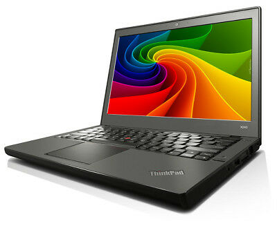 Lenovo ThinkPad X240 i5 1.90GHz 8GB 128GB SSD 1366x768 WLAN WWAN BT Windows 10