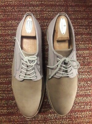 601561bc8aa Mens Nordstrom 1901 Shoes Saddle Up Suede Oxford Tan brown Size 11 M