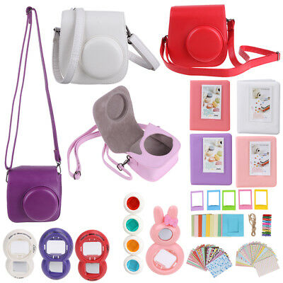 7 in 1 Instant Film Camera Case Accessories Bundles for Fujifilm Instax Mini 8