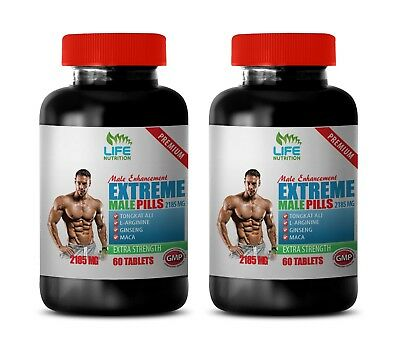 natural sexual remedy - Extreme Male Pills 2185mg (2) - strong man enhancer