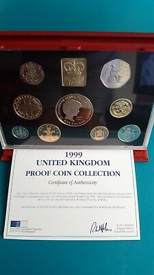 1999 UK Proof Coin Collection Set