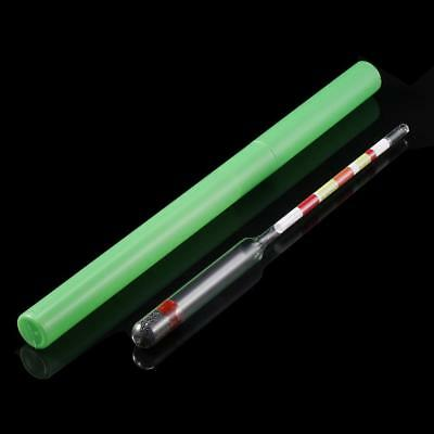 3 Scale Home brew Hydrometer Wine Beer Cider Alcohol Testing Making Tester AE