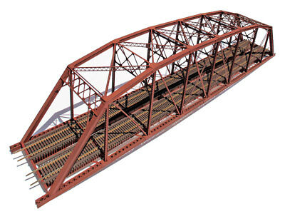 "Central Valley Model Works HO scale 200' Parker ""Hybrid"" Truss Bridge Kit #1900"