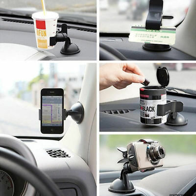 Universal 360° in Car Phone Holder Windshield Mount Stand Rotating Suction Grip