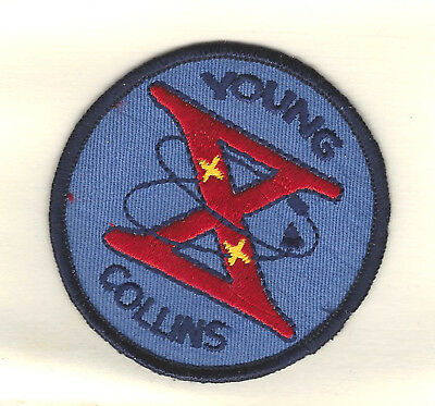 "NASA Gemini X Young Collins Embroidered 3"" Patch"