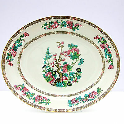 Vintage Lord Nelson Indian Tree Oval Meat Serving Platter Plate