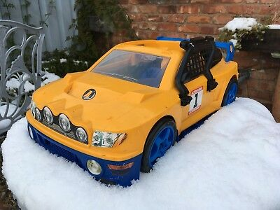 Hasbro Action Man Arctic Rally Car Model Yellow ...... well loved