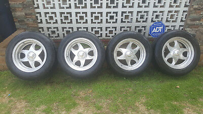 """Billet Specialties Staggered 16x7 16x9.5"""" Alloy Wheels Tires"""