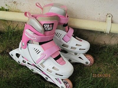 SFR Cyclone Roller Blades - Girls size 12-2 - used