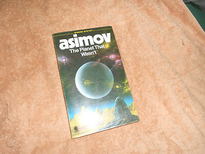 ASIMOV the planet that was,nt paperback 1977