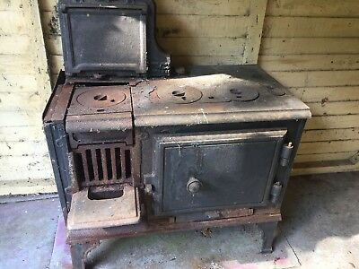 original cast iron kitchen range stove