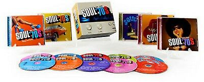 Soul of the 70s Various Artists 10 CD 150 Hits Time Life Made/Shipped USA