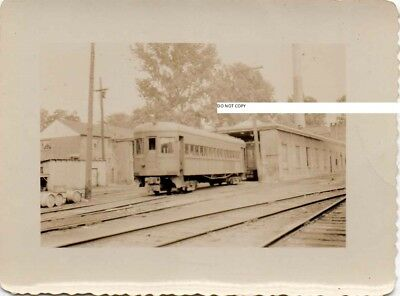 Washington Baltimore & Annapolis RR WB&ARR Photo Car at Depot or Shop???