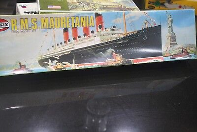 1/600 Airfix R.M.S. MAURETANIA Ocean Liner detail model ship boat limited ed.
