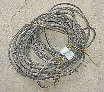 "Antique Copper Braided Lightning Rod Ground Cable -75+ Ft. 3/8"" Diameter"