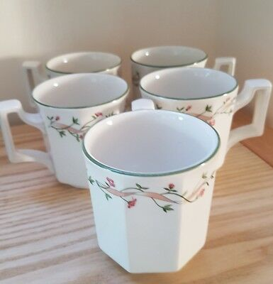 5 Johnson Brothers Eternal Beau Coffee / Tea Mugs in Excellent condition