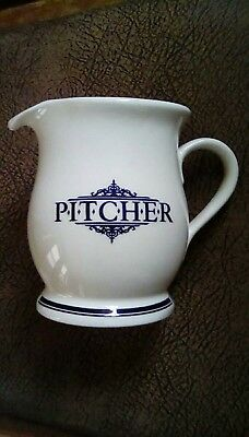 1869 victorian pottery pitcher