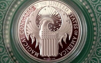 2017 FANTASTIC BEASTS and where to find them MAGICAL CONGRESS 1oz silver coin