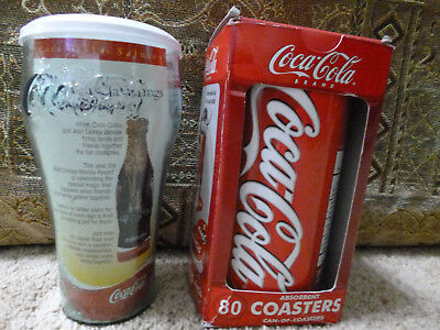 Coca-Cola Dispensable Coasters & Coca-Cola Salutes Walt Disney puzzle