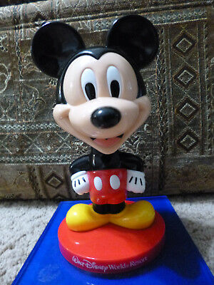 Mickey Mouse Bobblehead on a base