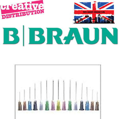 Needles BBraun Hypodermic Sterican Best Quality Medical NHS no Syringes UK Stock
