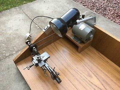 Watchmakers , Jewellers Lathe & G.E.C Electric Motor ( Reduced )