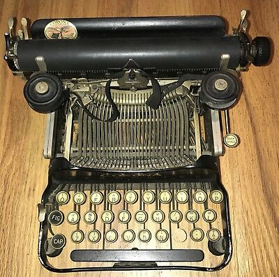 Antique Corona Folding Typewriter