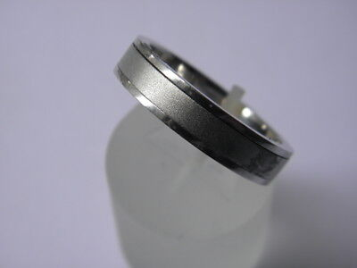 Unique Platinum (950) Spinner Wedding Ring Very Heavy and Rare Cheap Start NR