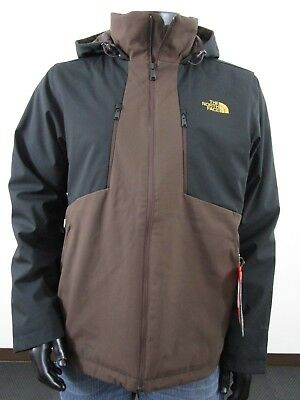 656a00eac THE NORTH FACE Men's Navy Brown Apex Elevation Full Zip Hooded ...