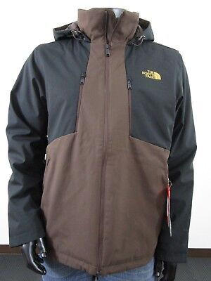 49c7c91e9 THE NORTH FACE Men's Navy Brown Apex Elevation Full Zip Hooded ...