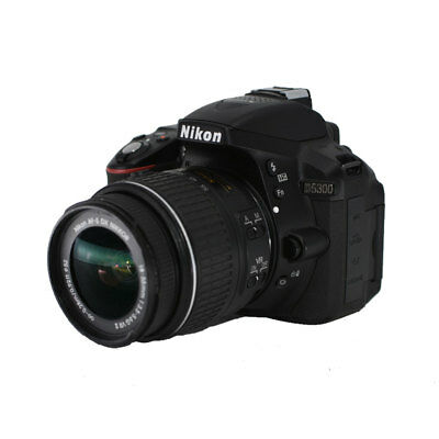 Nikon D5300 24.2 MP Digital SLR Camera w/ 18-55mm f/3.5-5.6G AF-S DX VRII Lens