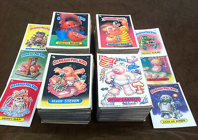 400 Garbage Pail Kids cards (1985-1988) lower grade lot