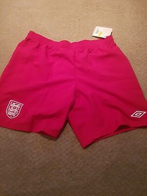 England Mens Goal Keeping Shorts Size XL
