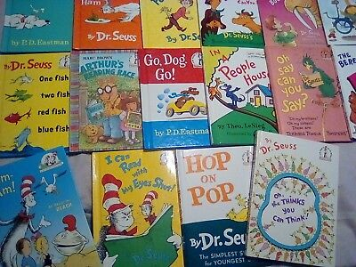 Lot 33 Dr Seuss Beginner I can Read It All By Myself plus BIG RED Books
