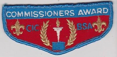 BSA Commissioners Award Pocket Patch