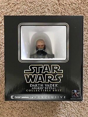 Gentle Giant Star Wars Darth Vader Anakin Reveal Excl. Collectible Mini Bust